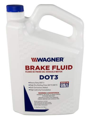 Wagner Brake Fluid 21B Super Heavy Duty DOT 3 Anti Corrosives Ad