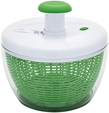 Farberware Easy to use pro Pump Spinner with Bowl Colander and Built in draining System for product image