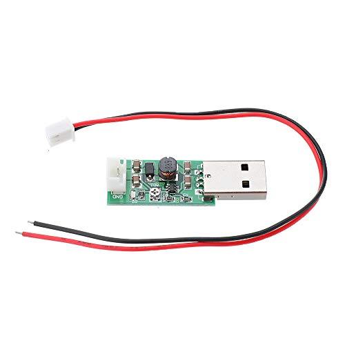 Módulos Step-Up y Step-Down 5pcs TB293 7W USB DC a DC 5V a 6V 9V 12V 15V Convertidor de salida ajustable Step Up Boost Module para el ventilador del motor LED Accesorios electrónicos estables