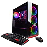 CYBERPOWERPC Gamer Xtreme VR Gaming PC, Intel Core i5-9400F 2.9GHz, NVIDIA GeForce GTX 1660 6GB, 8GB DDR4, 120GB SSD, 1TB HDD, WiFi Ready & Win 10 Home (GXiVR8060A7, Black)