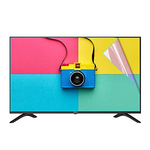 AWSAD Proteggi Schermo TV, Pellicola Salvaschermo Anti Luce Blu per TV da 27-75 Pollici/Monitor Tavolo Resistente ai Graffi Anti-Impronta Digitale