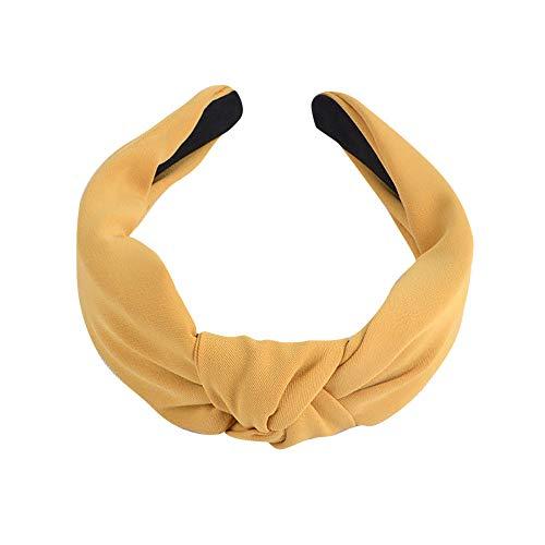 Serre-têtes Large Nœud Bandeau Cheveux Femme Fille Hard Headband Accessoires Cheveux Tissu Elastique pour Fête Décoration Maquillage