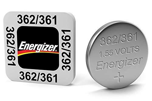Energizer - 10 piles bouton oxyde d'argent - 377 376 sr626sw sr626w