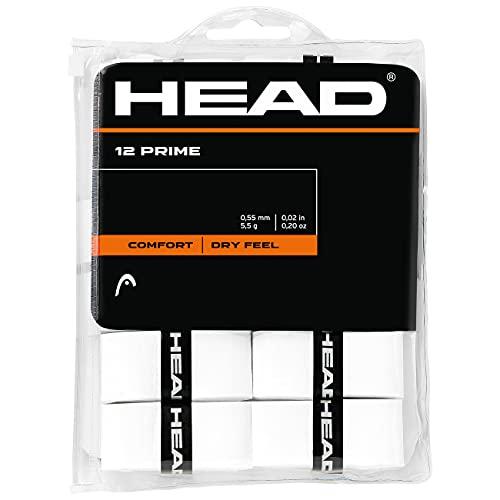 Head 12 Prime Accesorio de Tenis, Adultos Unisex, Blanco, Talla única