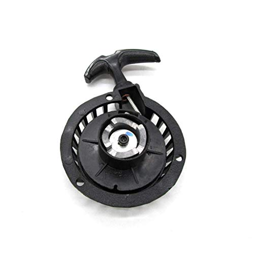 Namvo Motorrad Auto Easy Pull Starter, schwarzes Aluminium Startteil für 47CC 49CC Mini Pocket Dirt Bike Minimoto ATV Quad