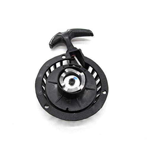 Namvo Motorino di avviamento facile per auto da moto, parte iniziale in alluminio nero per 47CC 49CC Mini Pocket Dirt Bike Minimoto ATV Quad
