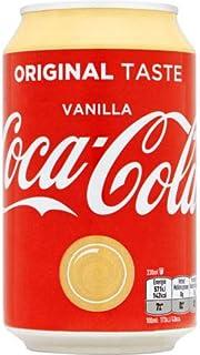 72 x Coca Cola Vanilla cans, dosen, canettes, latas, lattine 0,33 L