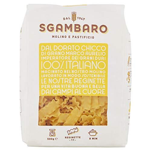 Pasta Sgambaro - Reginette N. 11 - 100% grano duro italiano - 500 gr