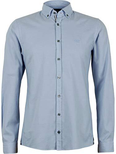 Joop Jeans Slim-Fit Hemd aus Baumwolle blau (440 TurquioseAqua) XL