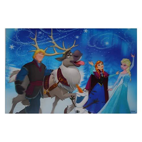 GUIZMAX Set de Table La Reine des Neiges 3D sous Main Frozen