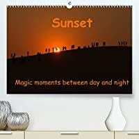 Sunset Magic moments between day and night (Premium, hochwertiger DIN A2 Wandkalender 2022, Kunstdruck in Hochglanz): Sunsets around the globe (Monthly calendar, 14 pages )