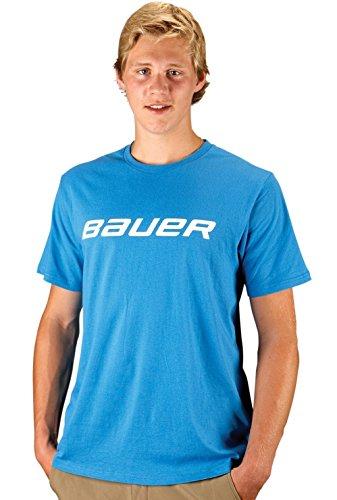 BAUER Core SS Tee Senior + Youth, Größe:XL;Farbe:blau