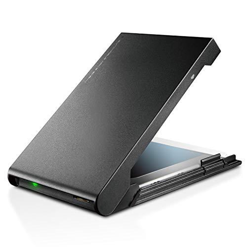 『ロジテック HDD SSDケース 2.5インチ USB3.2 Gen1 ブラック LGB-PBSU3』のトップ画像