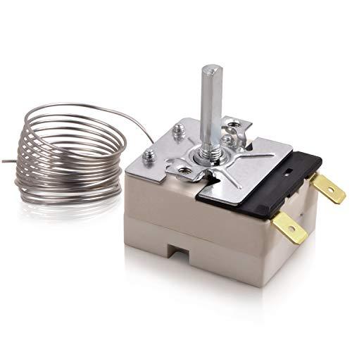 Thermostat 50-250°C Backofenthermostat Ersatz für Backofen Bosch Siemens Constructa Küppersbusch Whirlpool Neff EGO 55.13043.010 Ersatzteile Zubehör Ofen Herd