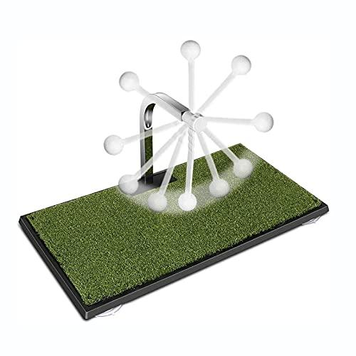 NXX Entrenador De Swing De Golf Giratorio De 360 ° Entrenamiento De Golpe LáTigo De Ayuda para Columpio PráCtica...
