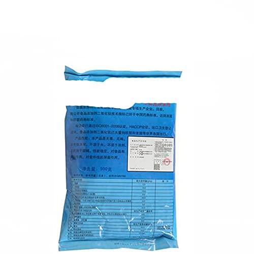 Polvo de dióxido de titanio de grado alimenticio, no tóxic