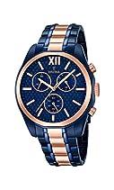 Festina Herren-Armbanduhr Chronograph Quarz Edelstahl F16857/1