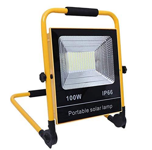 XYYHTL 100 W LED bouwlamp werklamp draagbaar schijnwerper zaklampen IP65 Work accu Light lampen Torches buitenverlichting voor camping vissen ondersteuning USB opladen