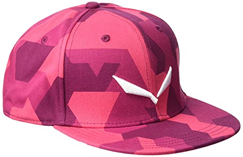 SALEWA PUEZ CAMOU FLAT CAP Kappen, Rose Red/6110/6890