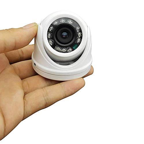 Vanxse HD 960h 1200tvl Cámara CCTV 12 luces LED Ir-cut 3,6 mm gran angular armadura mini domo de seguridad cámara de vigilancia