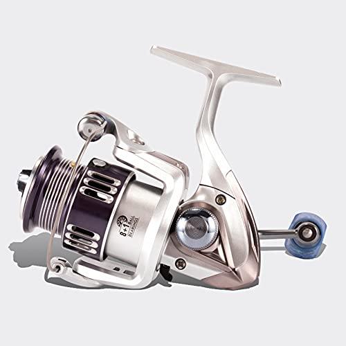 HNHYNSY Reel de Pesca Ultraligero de Metal 1.5-105 Carrete de Capacidad de línea