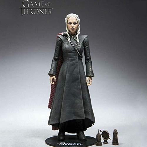 Byrhgood HBO Figura: Juego de Tronos-Daenerys Targaryen Acción figurs (Armas Can) Formulario de Home Box Office Colección Figura 18cm