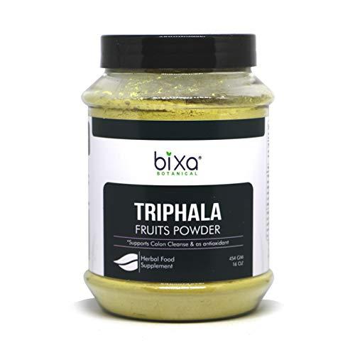 Triphala (Haritaki, bibhitaki & Amalaki)–Natürliches Anti | Ayurvedische Herbal Nahrungsergänzungsmittel für Blut Luftreiniger, Stärkung der Haarwurzeln, eine gesunde Verdauung & Absorption, 1