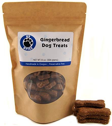 K9 Bytes Gingerbread Dog Treats