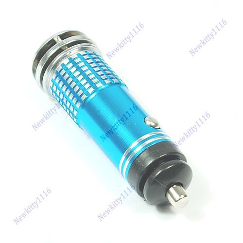 S-TROUBLE Mini Auto Car Fresh Air 12V Ionic Purifier Oxygen Ozone Ionizer Cleaner Filter