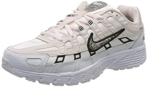 Nike W P-6000 SE, Zapatillas para Correr Mujer, Light Soft Pink Multi Color White Black, 36 EU