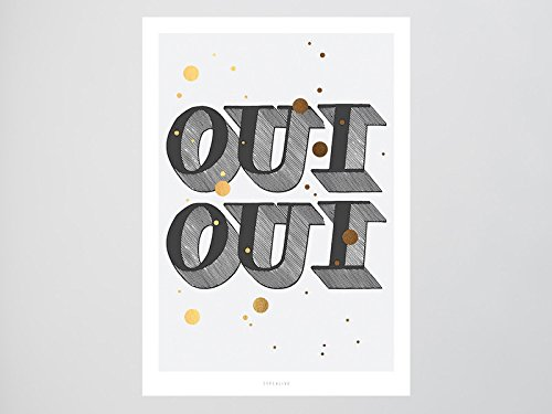 Kunstdruck Poster / Oui Oui