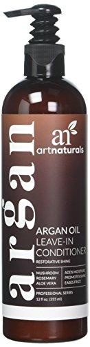 Artnaturals, Organic Argan Oil Leave-In Conditioner, Therapeutic Formula, 12 fl oz (354.9 ml)