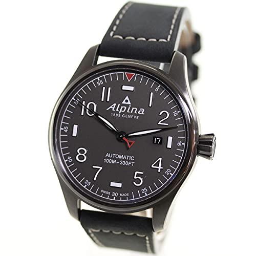 Alpina Geneve Startimerパイロットal-525g4ts6メンズ腕時計Aviation Watch