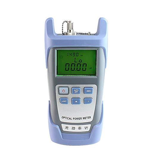 FTTH fibra ottica Power Meter misuratore di potenza in fibra 70dBm + 10dBm Di lavoro Lunghezza d'onda 850-1625nm Tester Fibra Ottica