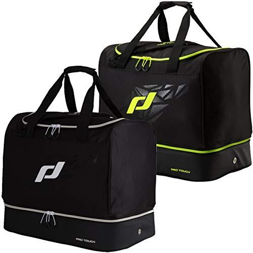 Pro Touch Sporttasche Pro Bag M Force Schultertasche, Schwarz/Gelb, One Size