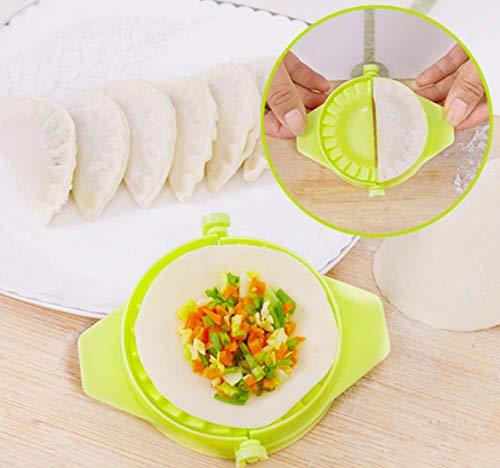 4 Piece Dough Press Set: Perfect for Dumpling, Calzone, Ravioli, Empanada, Turnover & Pierogi