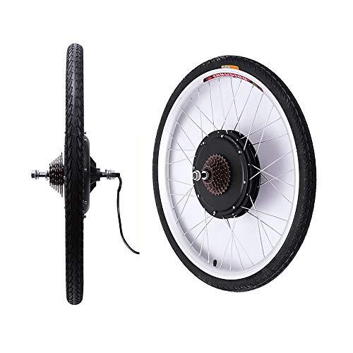ROMYIX - Kit de conversión de bicicleta eléctrica de 26 pulgadas, rueda...