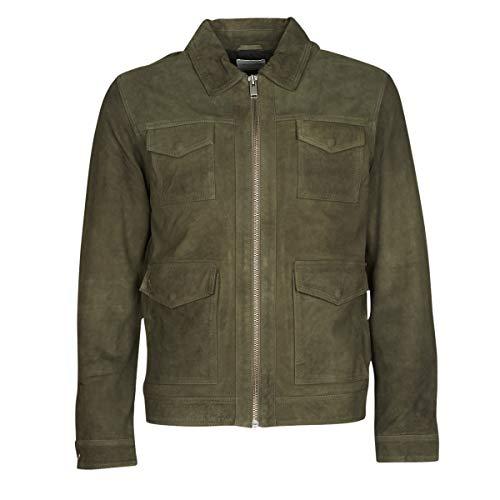 Selected Slhralf Jacken Herren Kaki - M - Lederjacken/Kunstlederjacken Outerwear