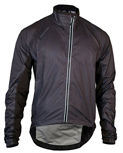 Showers Pass Men's Lightweight Breathable Spring Classic Waterproof Jacket (Black - X-Large)