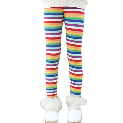 Quaan-baby Neugeborenes Baby Mädchen Winter Dick warm Lange Hosen Drucken Fleece Lined Leggings