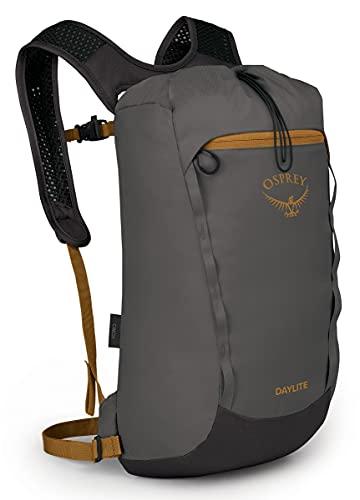Osprey Daylite Cinch Daypack, Ash/Mamba Black, One Size