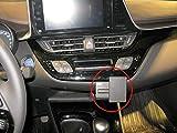 Brodit ProClip Coche - Soporte (Teléfono, Coche, Soporte pasivo, Negro, ABS sintéticos, Toyota C-HR 1)