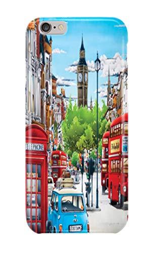 Carcasa para iPhone 6 6s England London United Kingdom Big Ben 21 Diseños