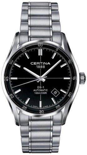 Certina Herren-Armbanduhr XL Analog Automatik Edelstahl C006.407.11.051.00