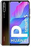 HUAWEI P Smart S - Smartphone con Pantalla OLED de 6.3' (4GB DE RAM + 128GB de ROM, Cámara Triple AI de 48MP, Lente Ultra Gran Angular, Huella Digital en Pantalla, 4000 mAh) Color Negro