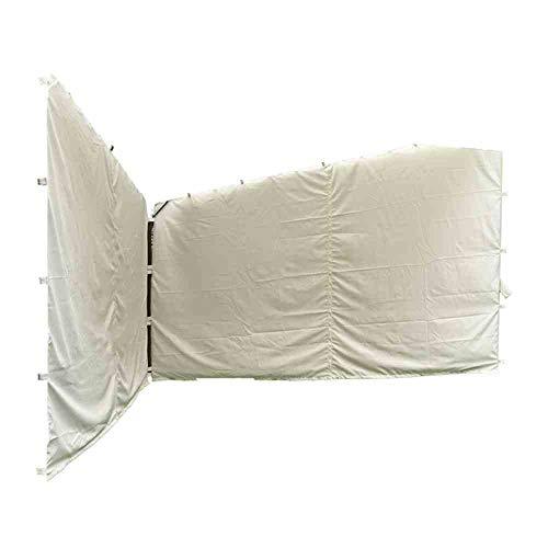 Siena Garden Seitenteile zu Pavillon Berlino 4x4 100{8b018f01e0c365f6c9e3a79cc1e5fb3e2b6988691d553bc2f7151c8dccf85d06} Polyester weiß/2 Stück