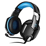 LODDD Gaming Headphones KOTION Each G1200 Wired Shocking Bass with Microphone Headset