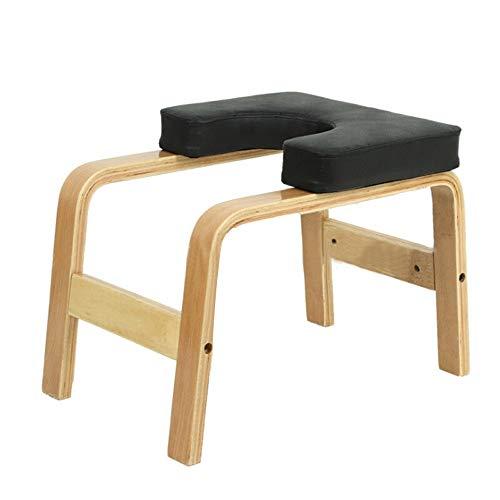 Big Save! KMCMYBANG Yoga Bench Wooden Yoga Inversion Chair Yoga Asana Practice Equipment Yoga Aid St...