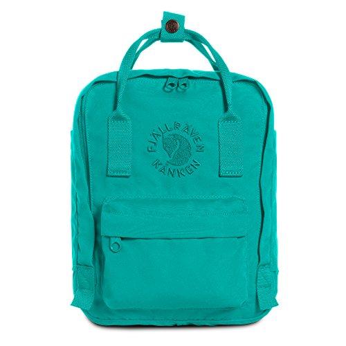 Fjällräven Re-Kånken Mini Backpack, Emerald, OneSize