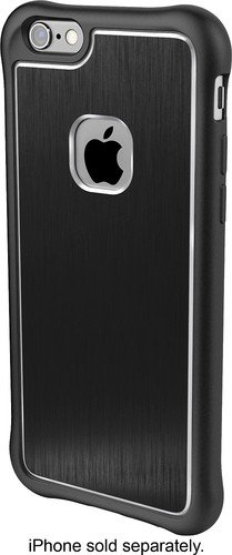 Ballistic Tungsten Ultra Slim Case for Apple iPhone 6 Plus, 6s Plus - Black